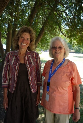 Benefits Counselors Margarete and Barb