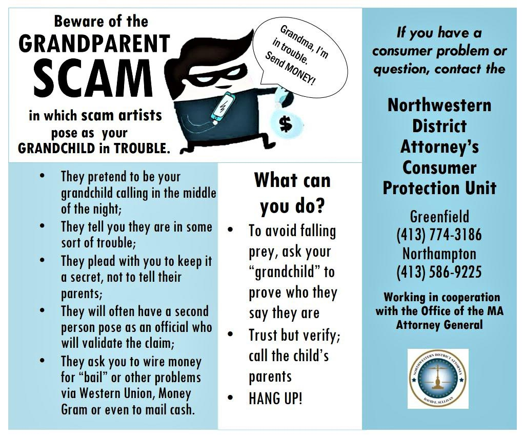 Consumer Grandparent Scam