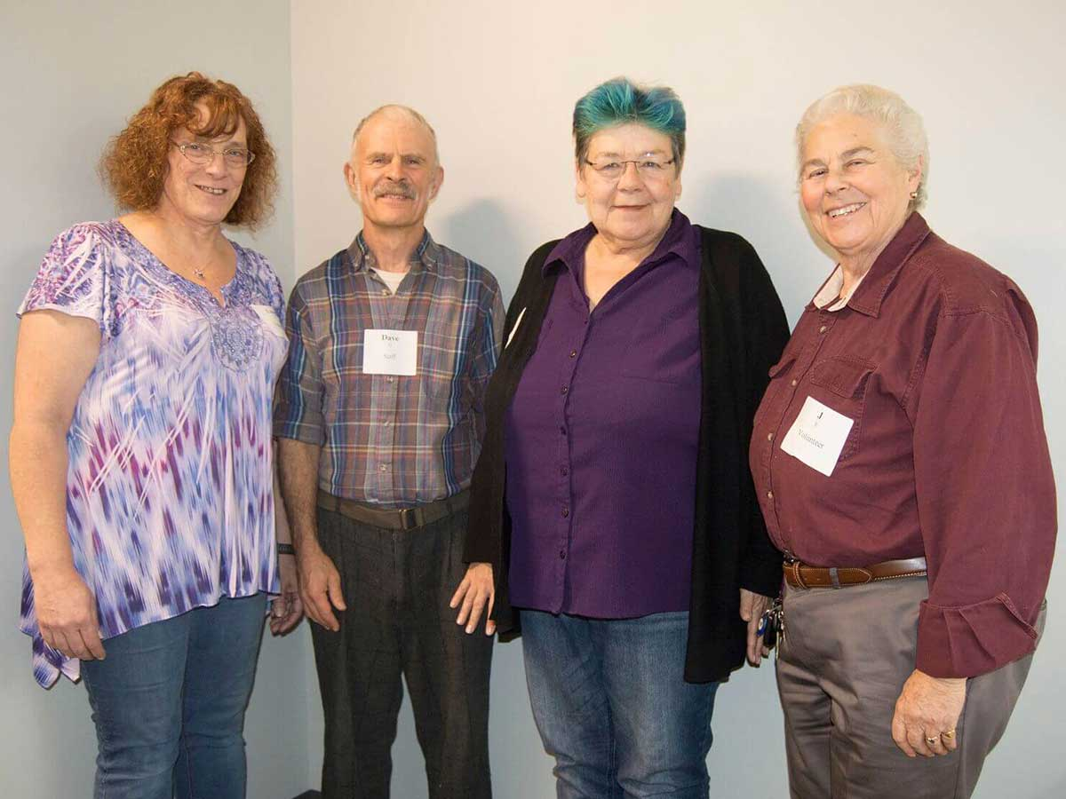 June 2018 Rainbow Elders Panel photo of Steering Committee