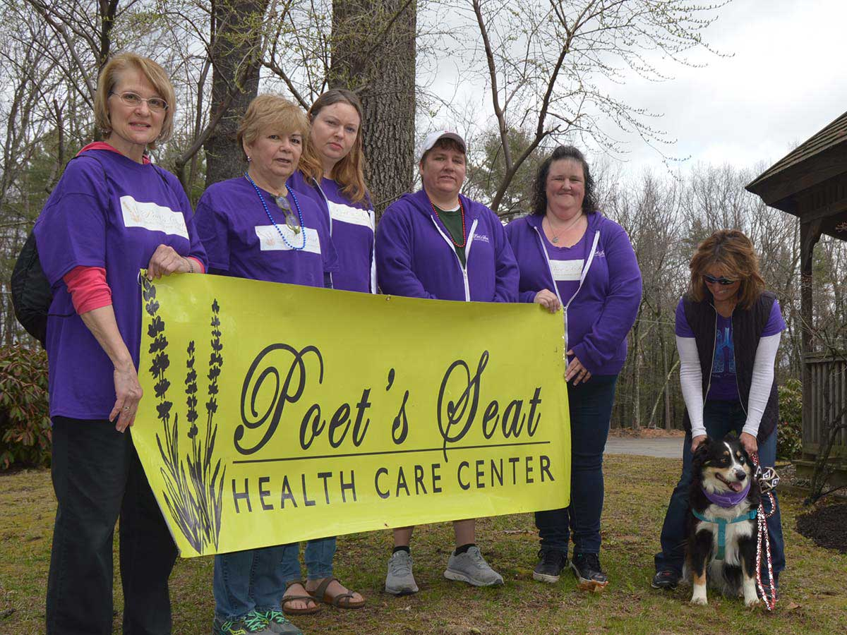 Poet's Seat team at the 2018 Meals on Wheels Walkathon