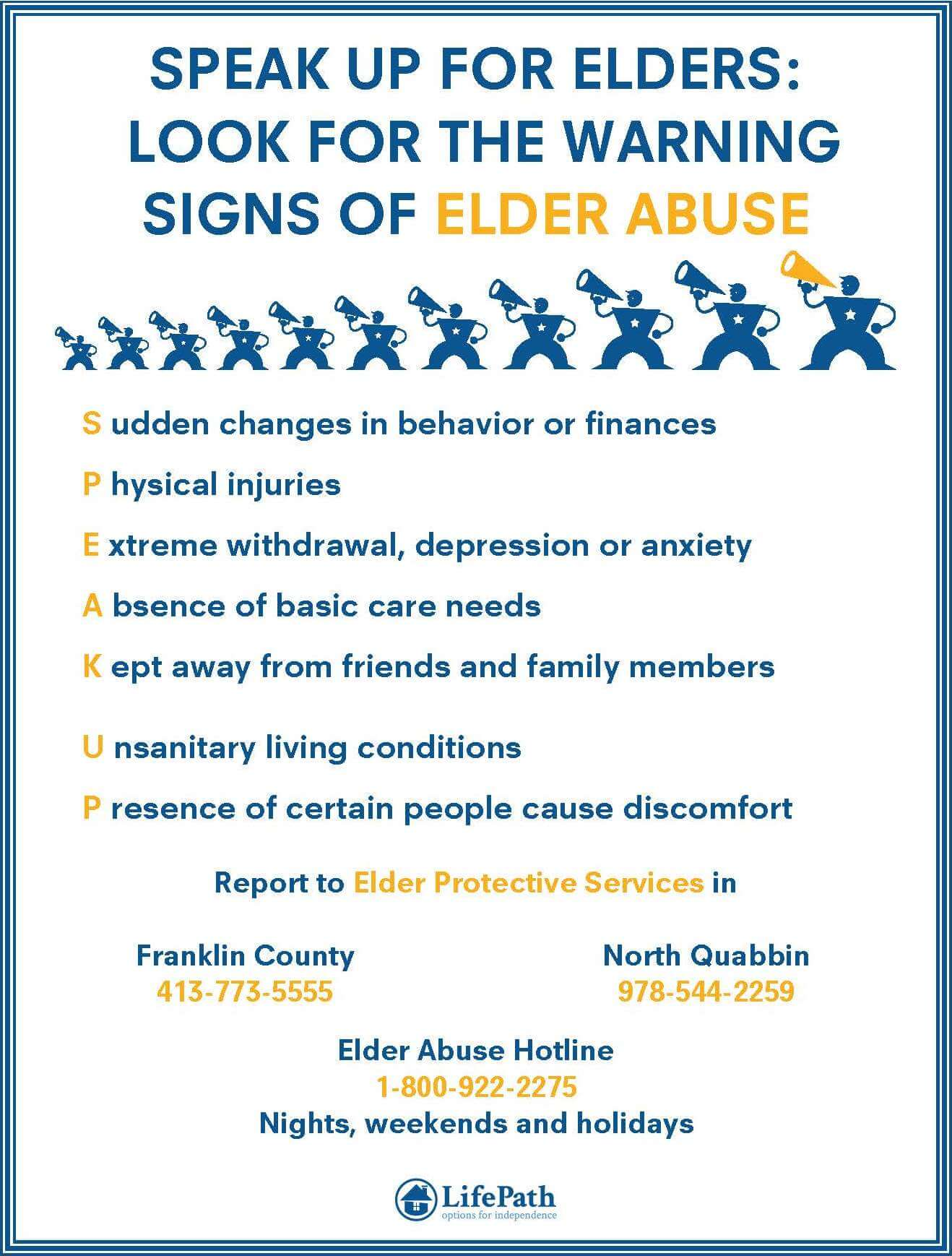 Together, we have the power to prevent elder abuse - LifePath ...
