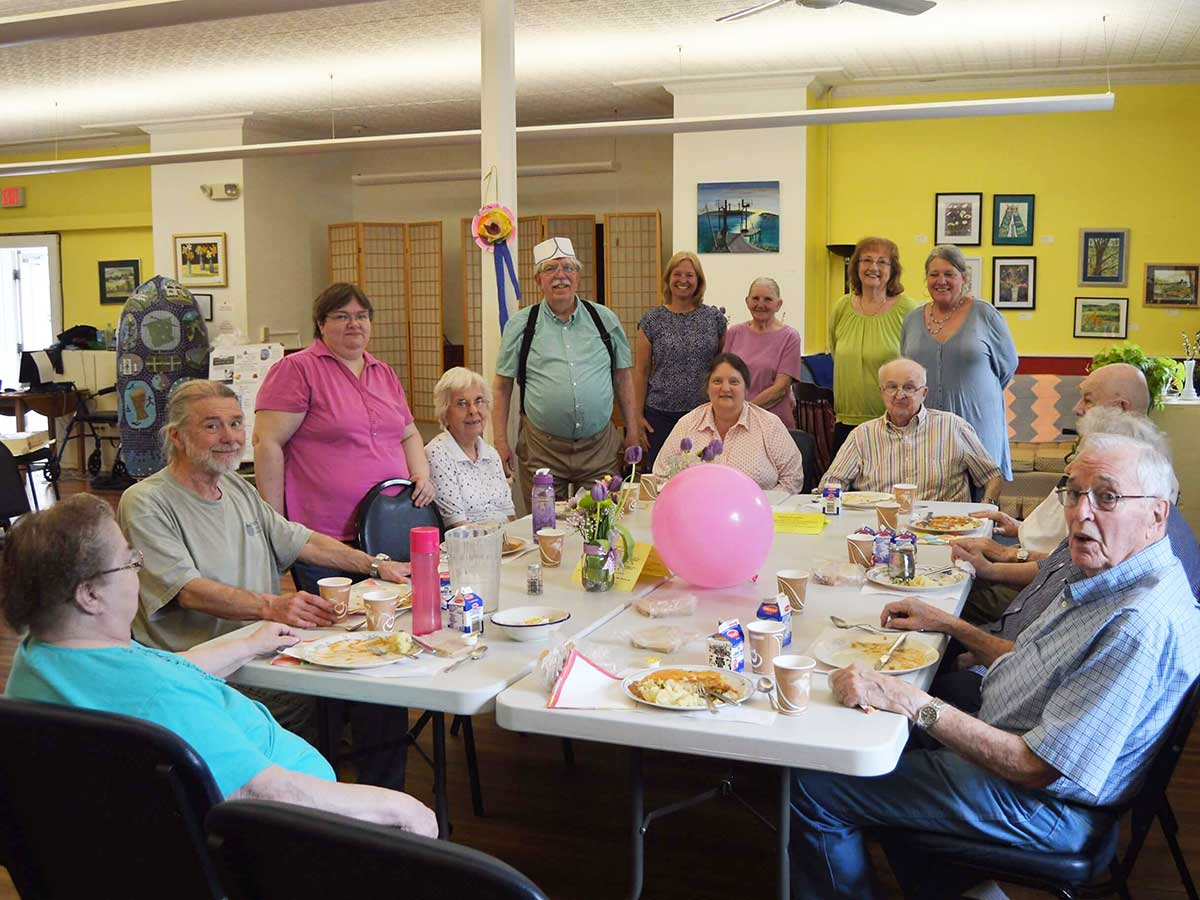 Shelburne Senior Center luncheon club