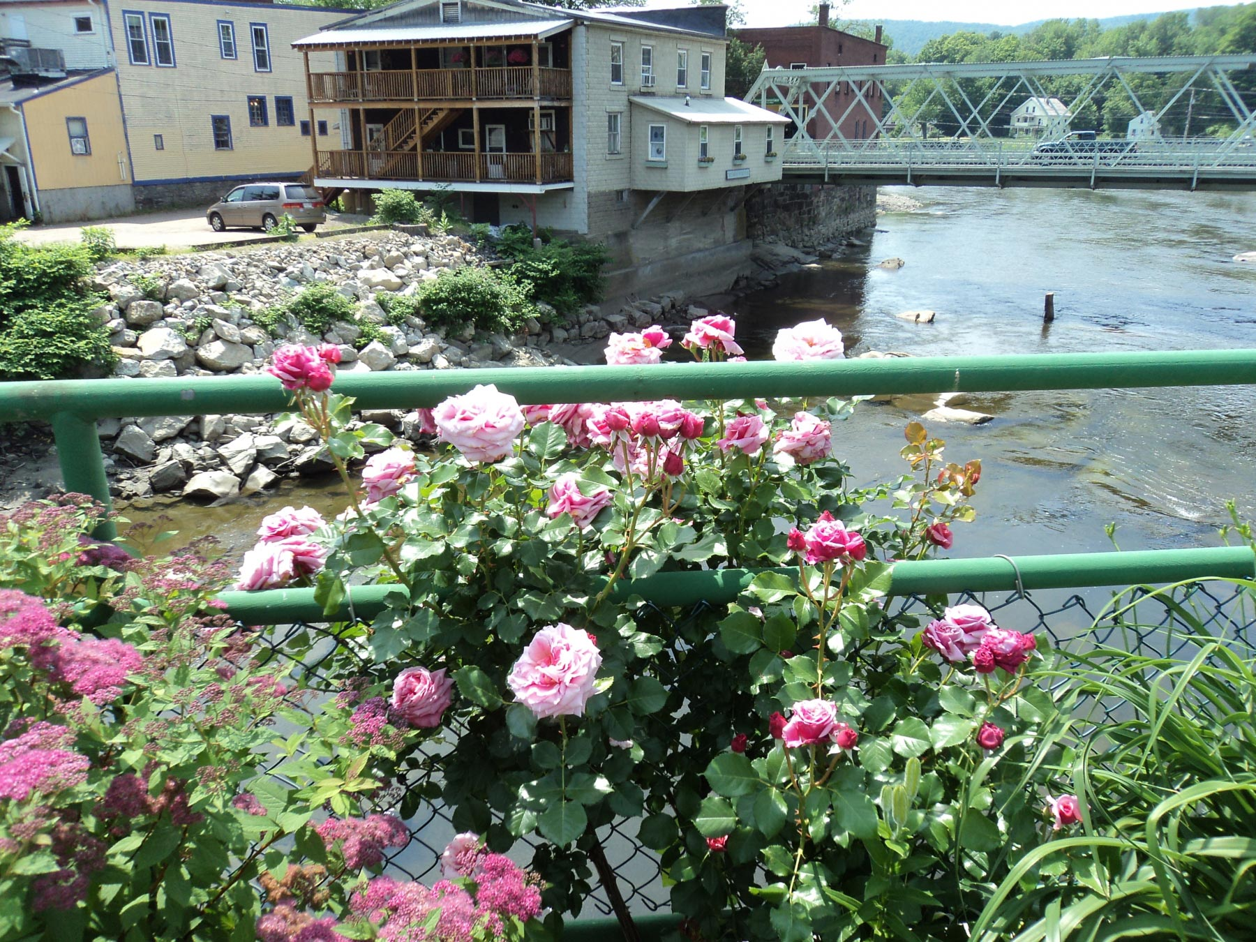Bridge of Flowers, Shelburne Falls |